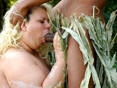 Cock Munching BBW Cynthia